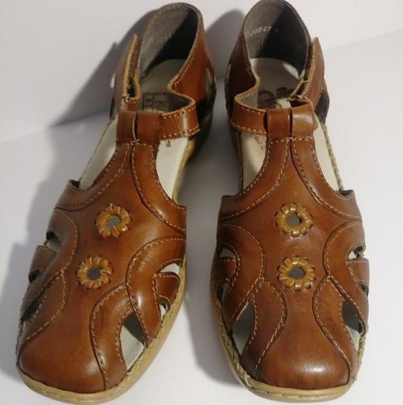 a7f0def1a104c Rieker leather sandals EU 37 - US 6.5